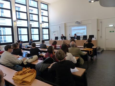 Colloque IHEAL Archives et justice transitionnelle : mot d'introduction par Olivier Compagnon directeur de l'IHEAL