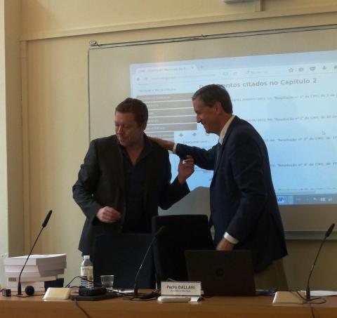 Colloque IHEAL Archives et justice transitionnelle : remise du rapport CNV Brésil au profit de la bibliothèque Pierre Monbeig