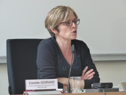 Colloque IHEAL Archives et justice transitionnelle : Camille Goirand, IHEAL