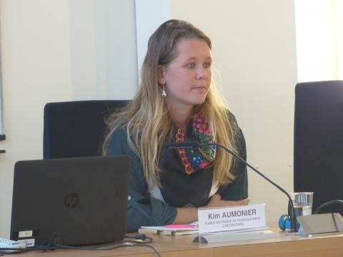 Colloque IHEAL Archives et justice transitionnelle : Kim Aumonier, IHEAL