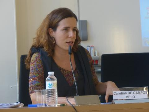 Colloque IHEAL Archives et justice transitionnelle : Carolina de Campos Melo, PUC-Rio