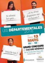 Affiche départementales